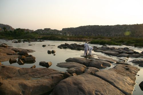Hampi, by the river IMG_5801