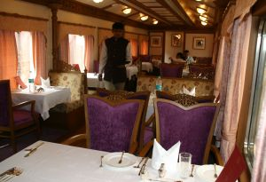 Dining room on the Golden Chariot train IMG_5164