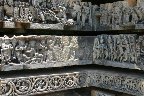 Belur temple, detail of freize, part unfinished IMG_5608