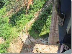 train bangalore mangalore - looking down