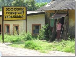 train bangalore mangalore - Yedakumari station
