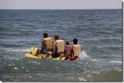 Sai Vishram Resort, banana boat 2