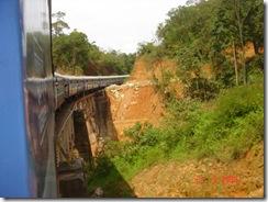 train bangalore mangalore - over a bridge