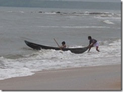 Sai Vishram Resort, fishing boat