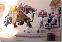Udaipur, City Palace, entrance