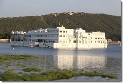 Udaipur, view of the lake