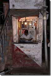 Walking through Udaipur, little stall